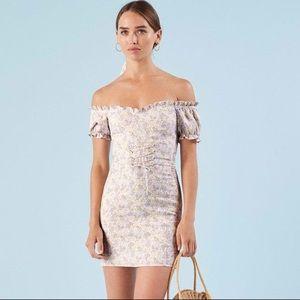 Reformation floral Miami dress